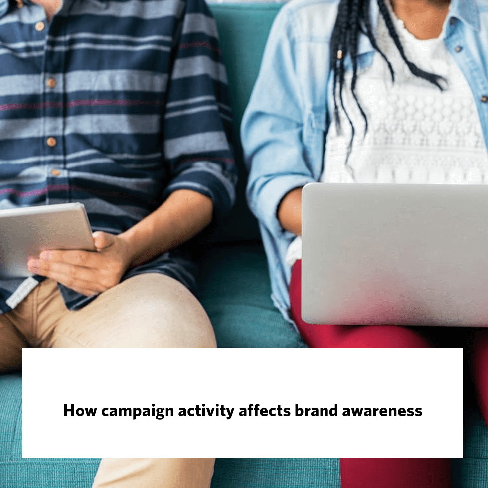 How campaign activity affects brand awareness, giraffe insights
