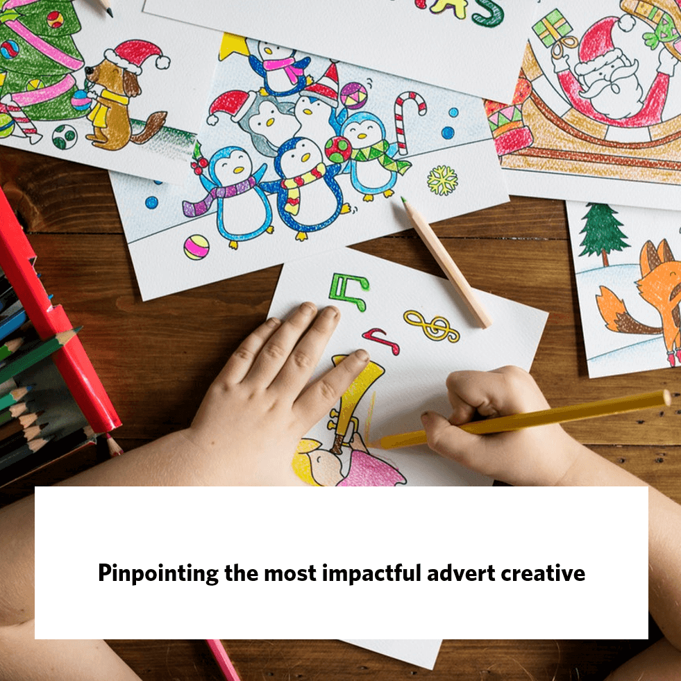 Pinpointing the most impactful advert creative, giraffe insights
